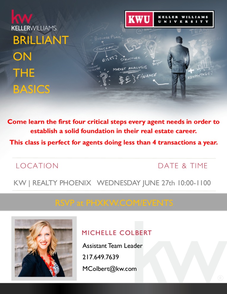Brilliant On The Basics Flyer 062718 png